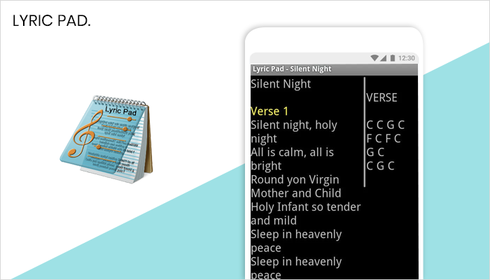 Lyric Pad - Lyrics App