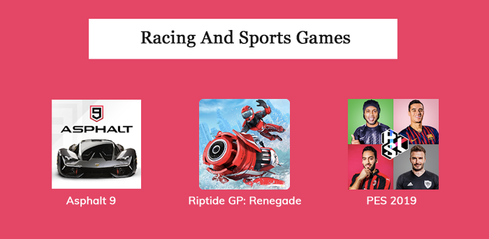 Racing And Sports Games