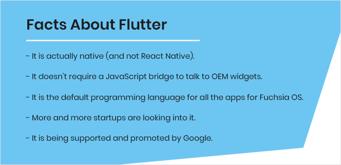 Facts about Flutter