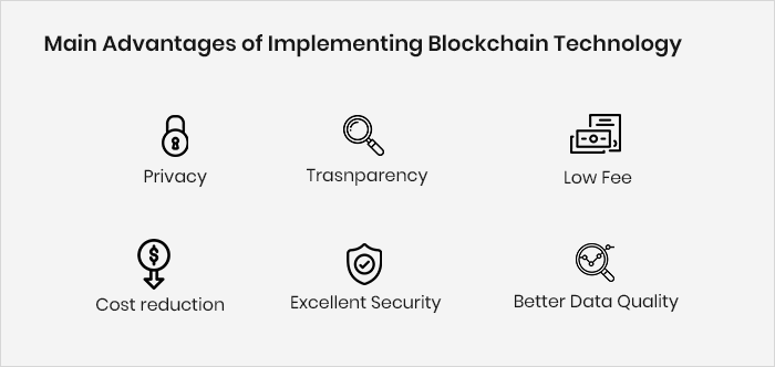 Main Advantages of Implementing Blockchain Technology