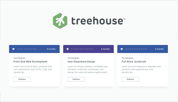 Treehouse Development Course