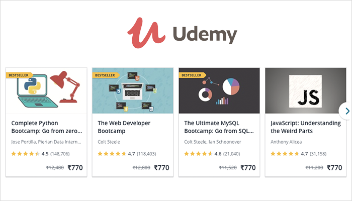 Udemy Development Course