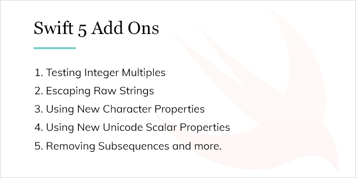 Swift 5 Add Ons