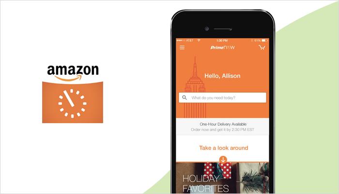 Amazon Now - Top Grocery App
