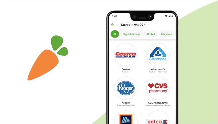 Instacart - the online grocery app