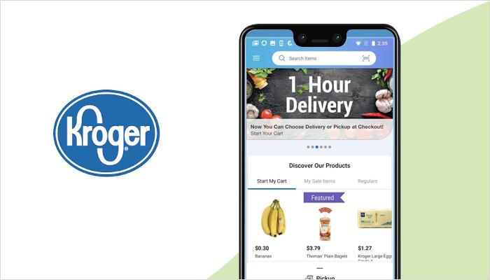 Kroger Grocery Shopping App