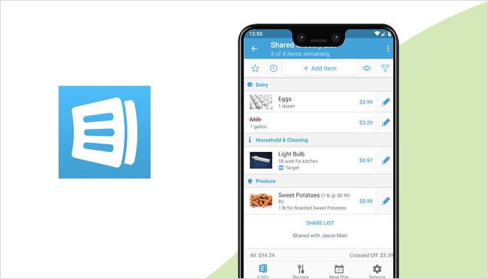 AnyList - Grocery List App