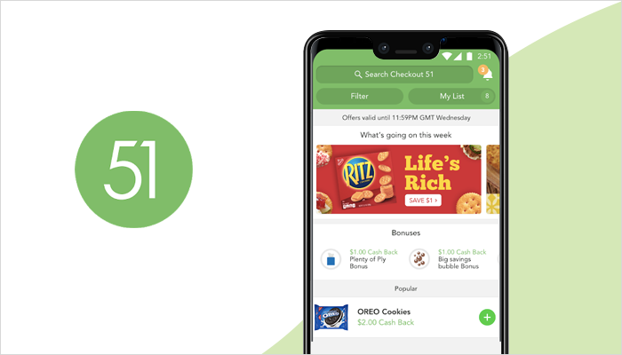Checkout 51 - Grocery List App
