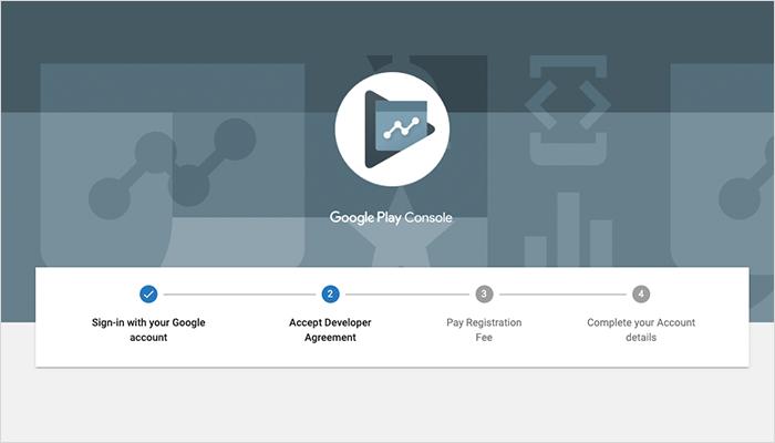 Google's Developer Dashboard