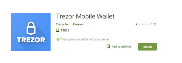 Fake crypto wallet app steals money