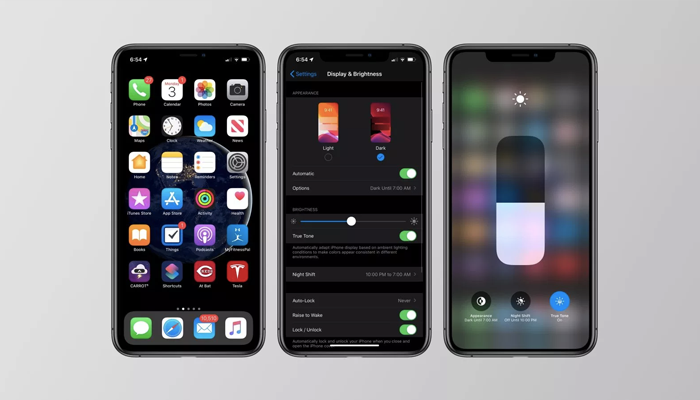 Release of iOS 13 With Dark mode