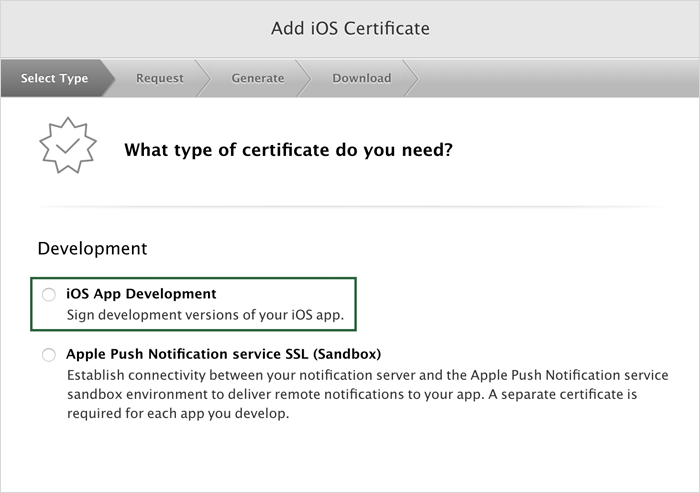 Generating An App Store Production Certificate†