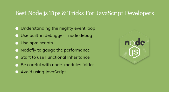 Tips and Tricks of Node.js Framework