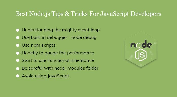 Best Node.js Tips & Tricks For JavaScript Developers