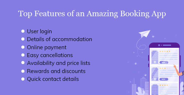 Top Features of an Amazing Booking App