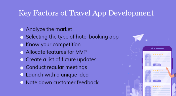 Key Factors of Travel App Developmen