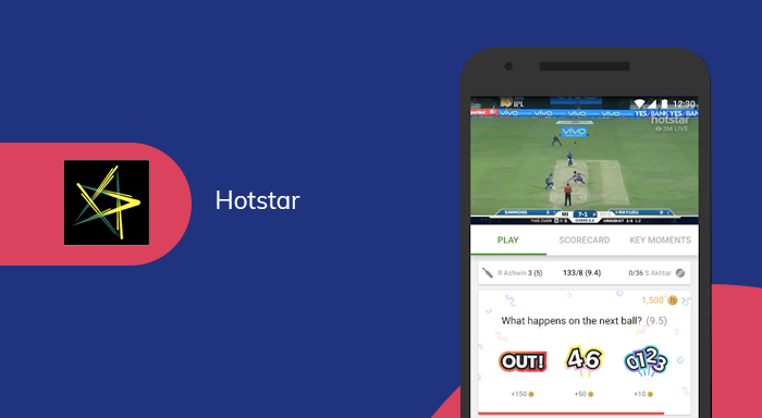 content that is covered by Hotstar
