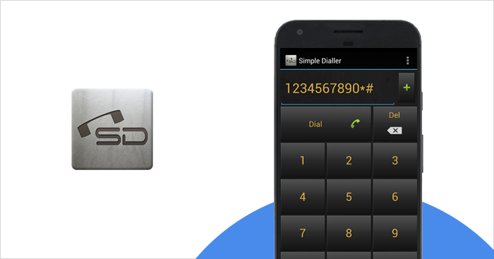 amazing dialer app for Android