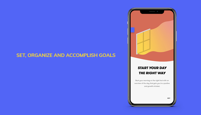 Set, Organize And Accomplish Goals