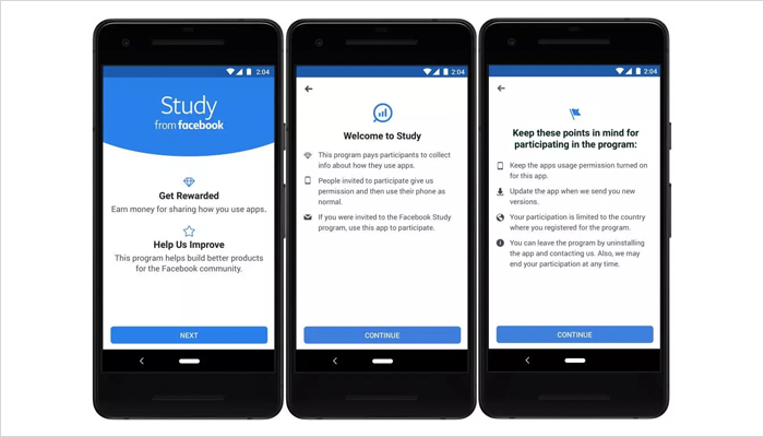 study app- a data tracking app