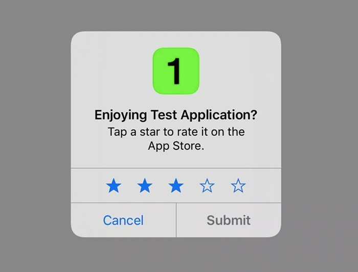 Rate the App' Prompts