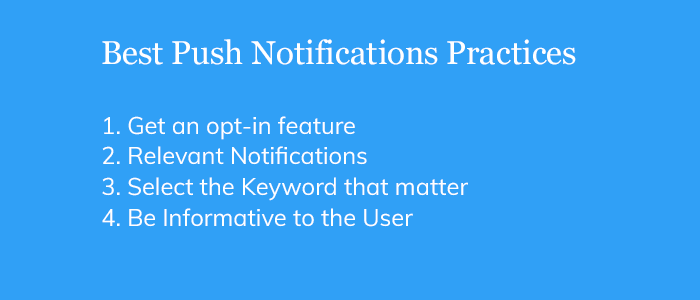 Best Push Notifications Practices