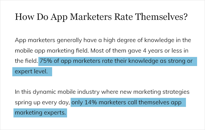 How Do App Marketers Rate Themselves
