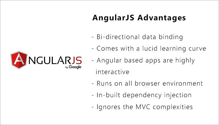 some AngularJS advantages