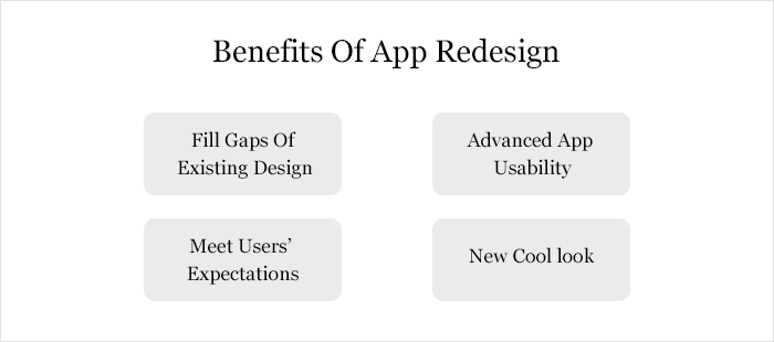 Benefits Of App Redesign