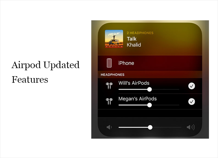 Airpod Updated Features