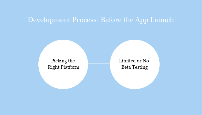 Development Process: Before the App Launch