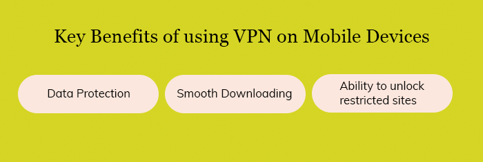 Key Benefits of using VPN on Mobile Devices