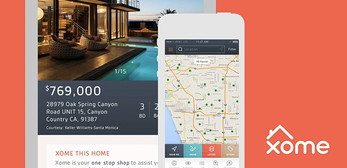 Xome - real estate app