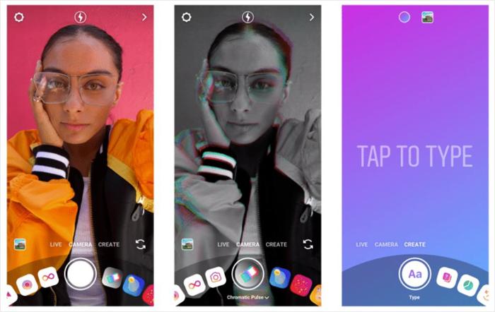 Instagram's Create Mode Feature In Camera