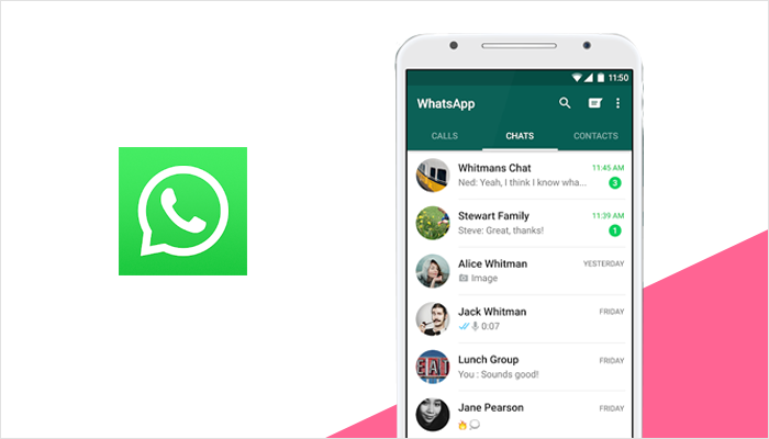 WhatsApp messaging app