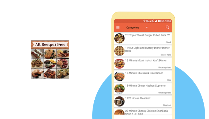 All Recipes Free - Food Recipes App