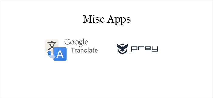 Misc Apps