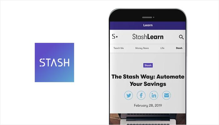 Stash - Best Money Making Apps