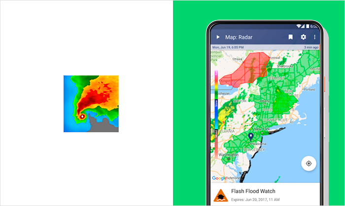 best weather apps for Android and iPhone.