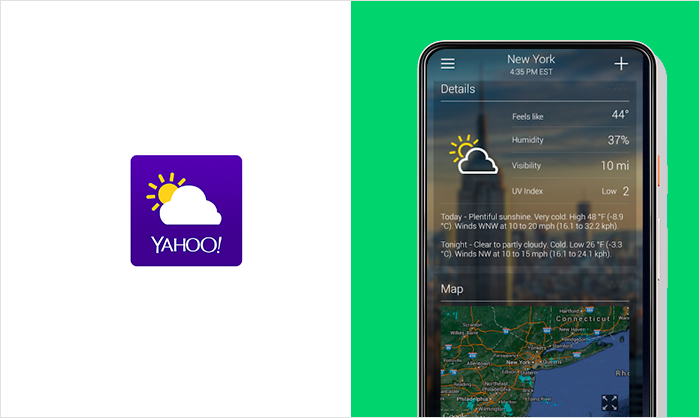most reliable weather apps
