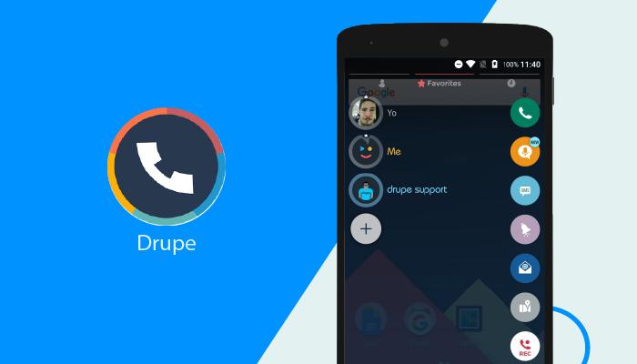 Drupe - Best Dialer Apps