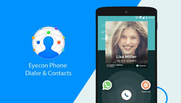 Eyecon Phone Dialer & Contacts - Best Dialer Apps