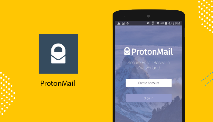 ProtonMail - Best Email Apps For Android