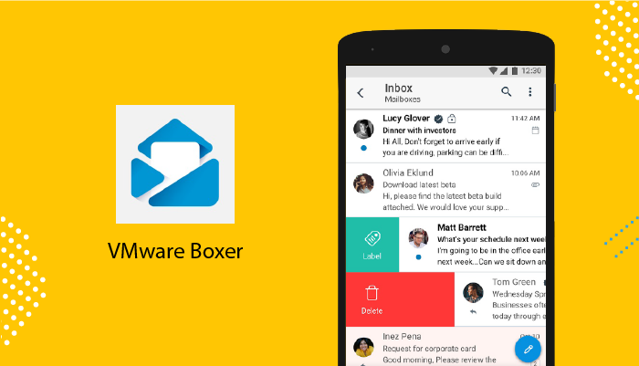 VMware Boxer - Best Email Apps For Android