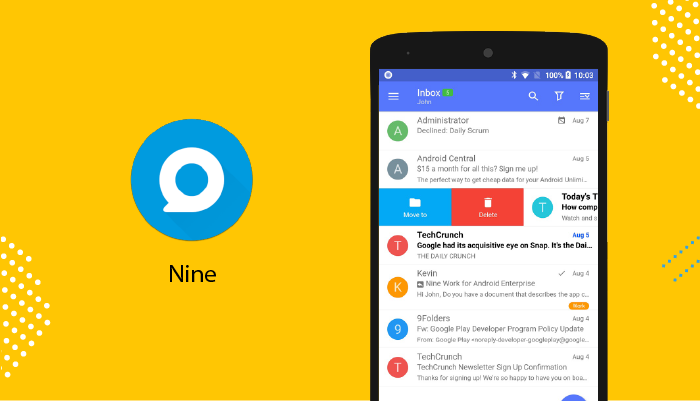 Nine - Best Email Apps For Android