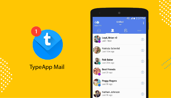 TypeApp Mail - Best Email Apps For Android