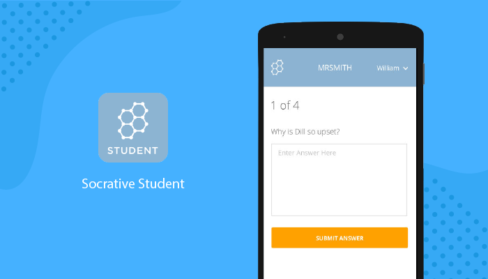 Socrative app is an excellent tool