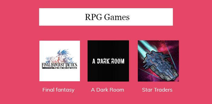 RPG Games App
