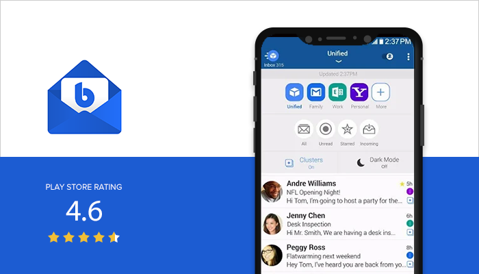 Blue Mail - Best Email App for Android