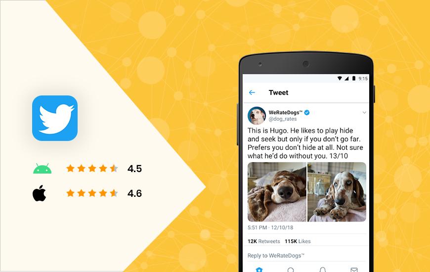 Twitter - top social media apps